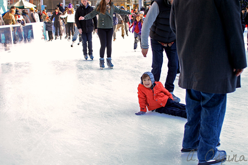 How to Ice Skate Completely Free at Bryant Park