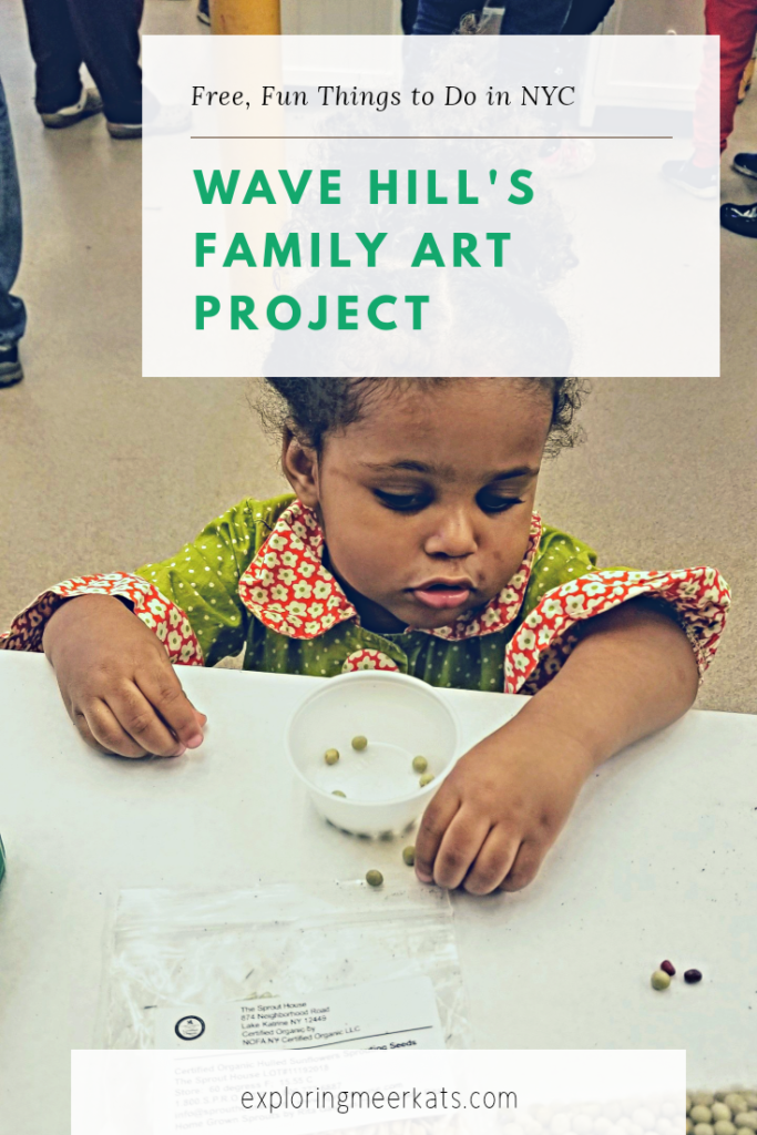 Wave Hill Family Art Project Pinterest