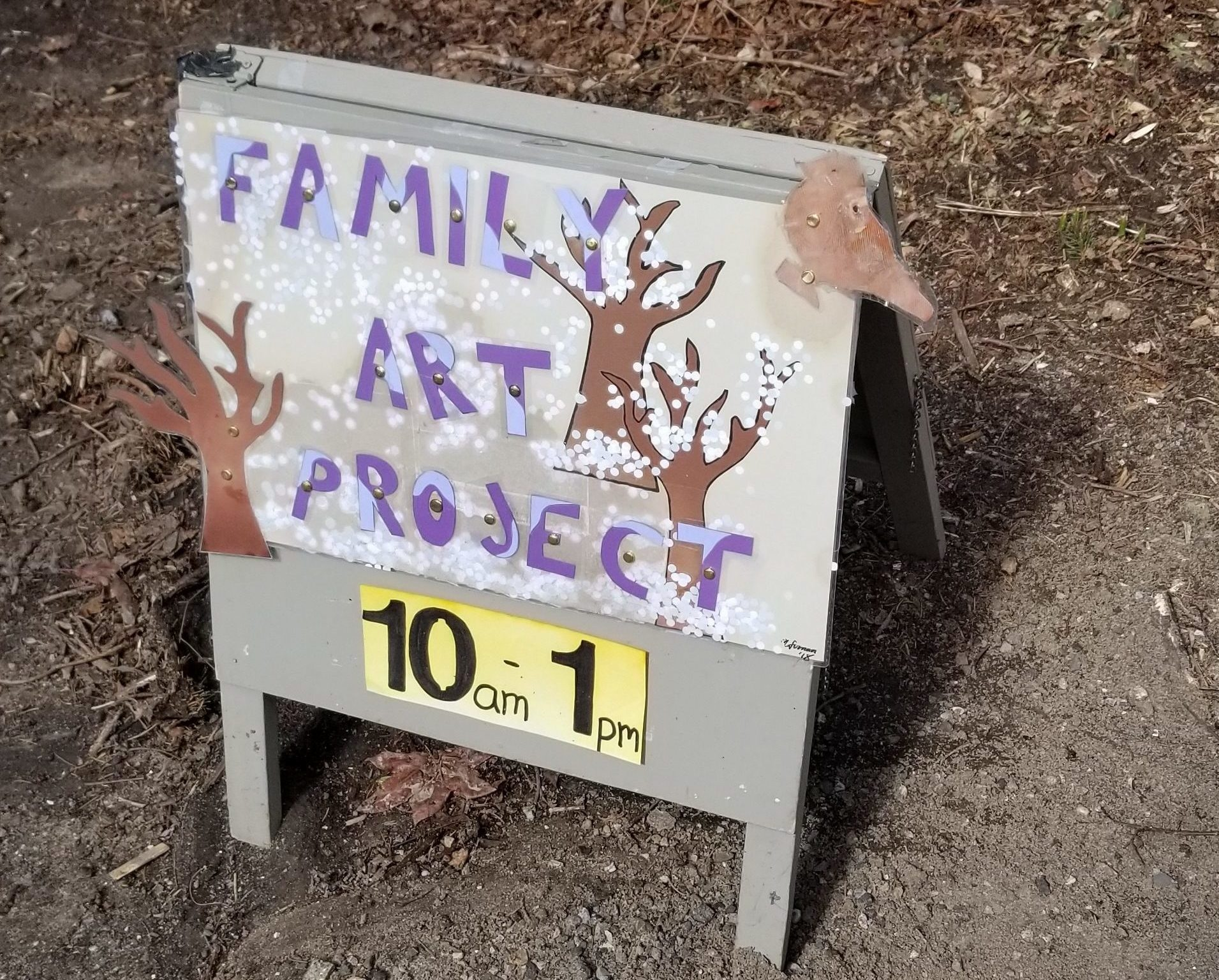Weekends are Always Fun at Wave Hill's Family Art Project