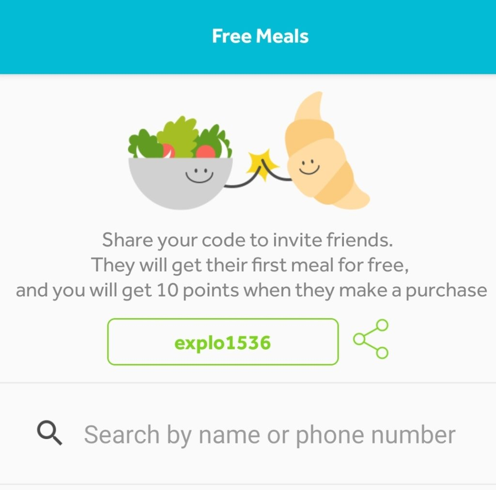 Food for All Free Meal Promo Code explo1536