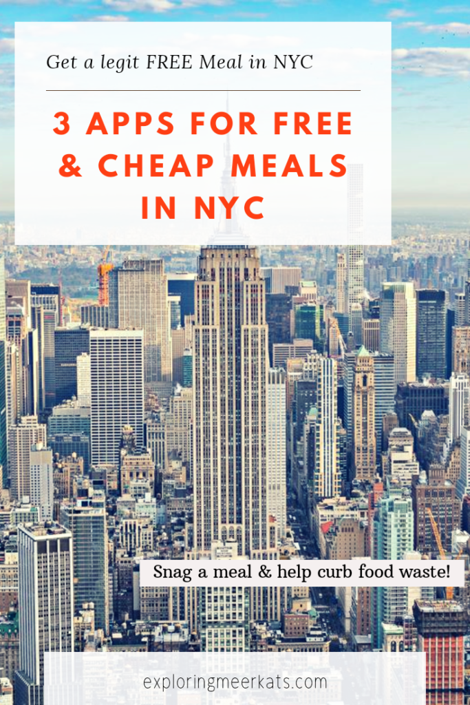 Free Food Apps NYC Pinterest