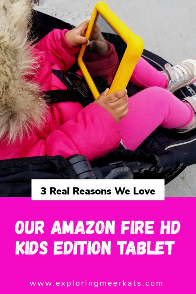 Amazon Fire HD Kids tablet Pinterest