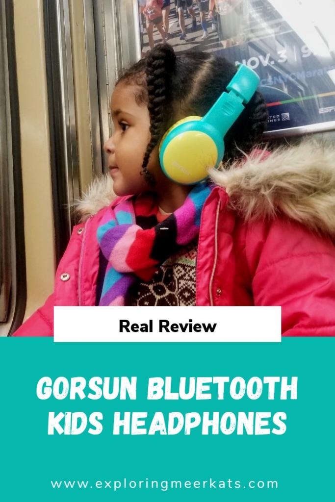 Gorsun kids headphones review Pinterest